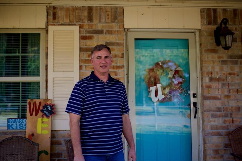 McAlester's 4th Ward councilman Robert Karr stands in front of his home in Oct. 2016