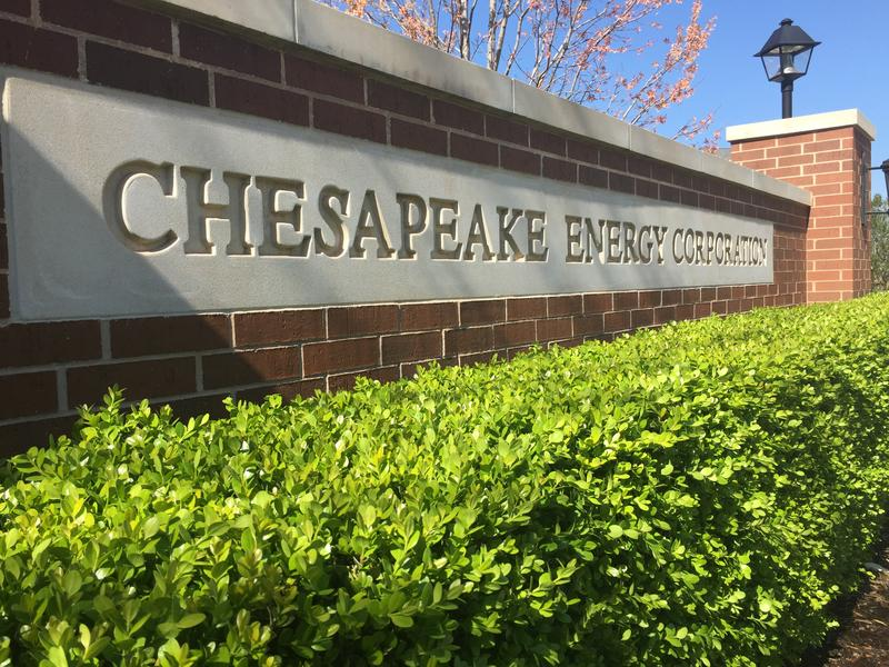 Signage at Chesapeake Energy's Oklahoma City campus.