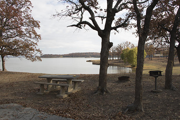 Lake Texoma State Park is still open to the public, but much of it has been sold to Pointe Vista, which demolished the outdated lodge seven years ago.