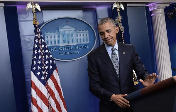 President Obama holds his final press conference at the White House on Wednesday, Jan. 18, 2017