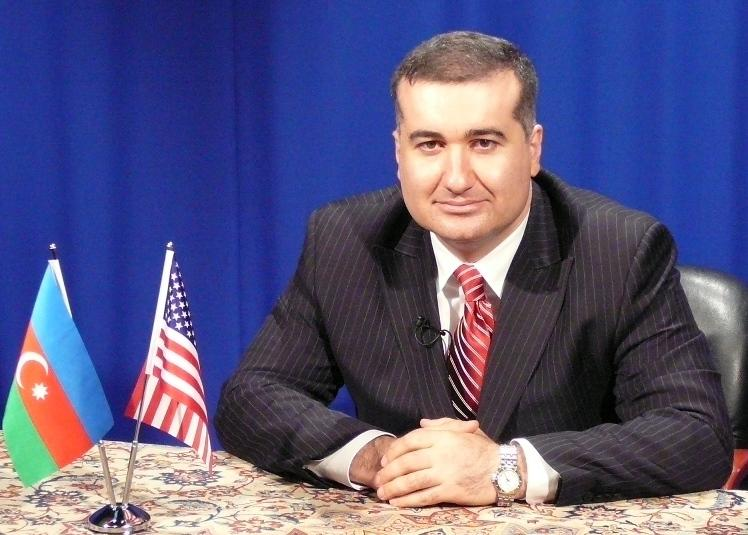 Elin Suleymanov, Azerbaijan's ambassador to the United States.