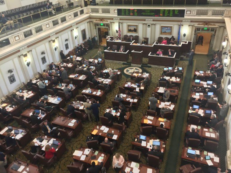 Oklahoma House of Representatives Chamber