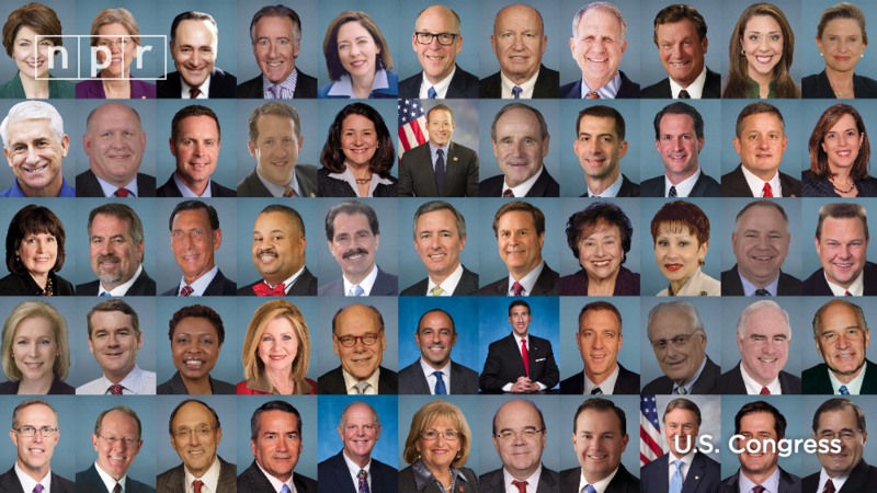 official portraits of Members of Congress