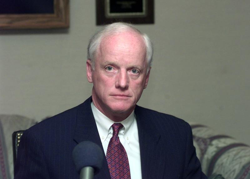 Former Oklahoma Gov. Frank Keating is one of the candidates for the position of FBI director, formerly held by James Comey.