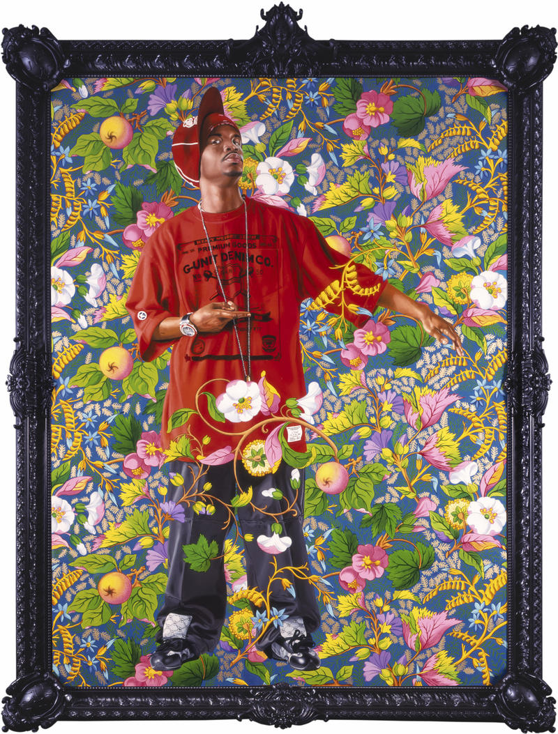 Portrait of a Venetian Ambassador, Aged 59, II, 2006. By Kehinde Wiley.