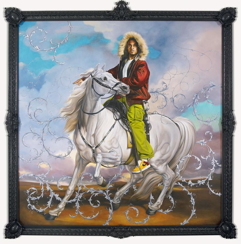 Colonel Platoff on His Charger, 2007–8. By Kehinde Wiley.
