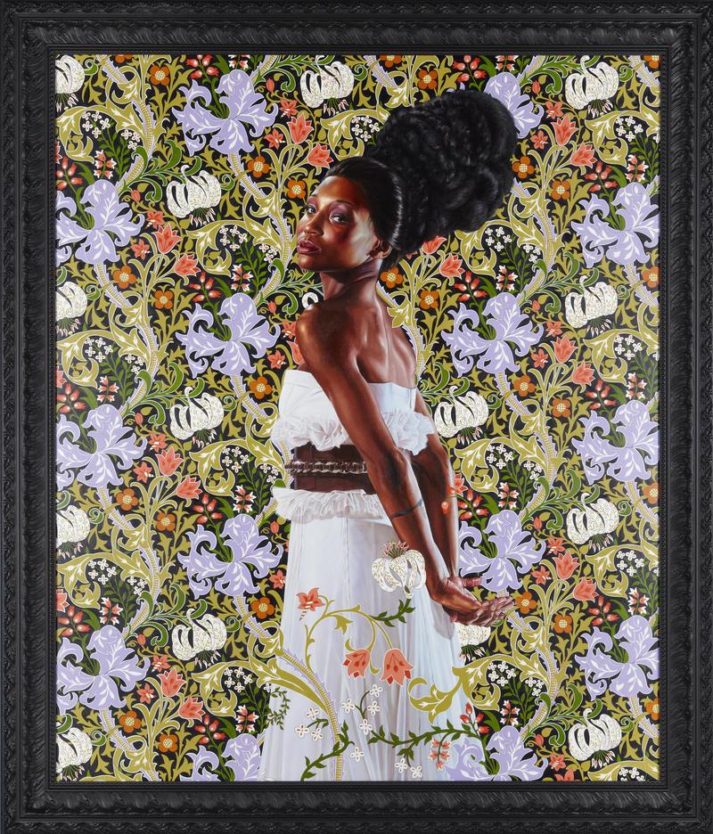 Mrs. Waldorf Astoria, 2012. By Kehinde Wiley.