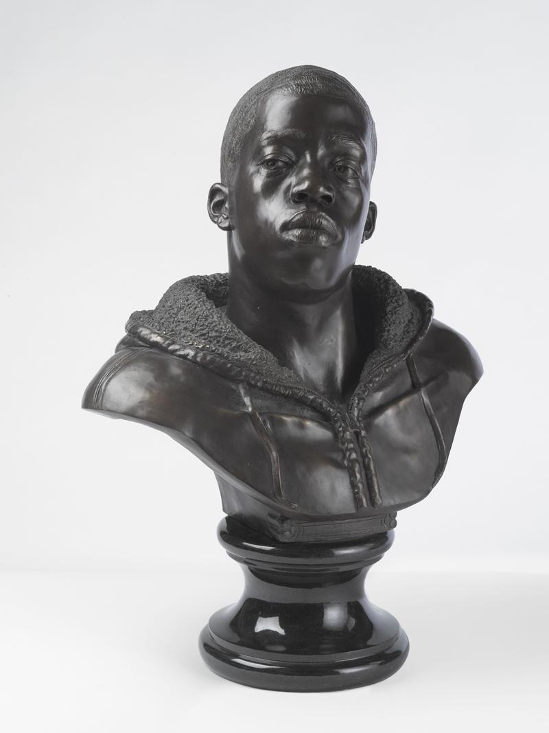 Houdon Paul-Louis, 2011.  By Kehinde Wiley.