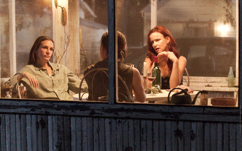 """""""August: Osage County,"""" filmed in Oklahoma in 2013."""