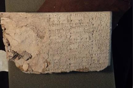 Among the artifacts Hobby Lobby forfeited to the United States Department of Justice were more than 1,500 cuneiform tablets.