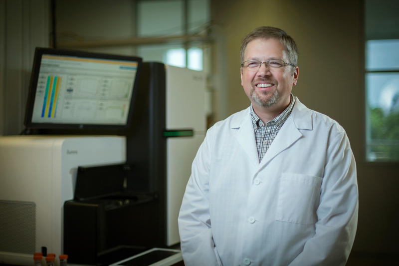 Oklahoma Medical Research Foundation scientist Patrick Gaffney, M.D.
