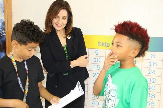 State Superintendent of Public Instruction Joy Hofmeister