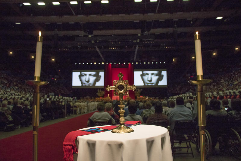 The Catholic Church beatified Oklahoma-born priest Stanley Rother on Sept. 23, 2017. More than 20,000 people attended the ceremony at the Cox Convention Center in downtown Oklahoma City.