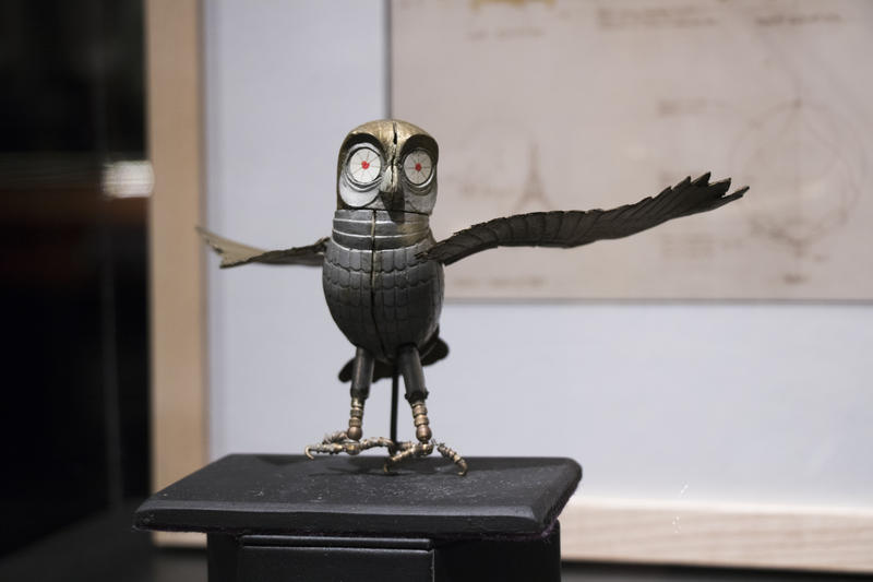 Bubo, a character from Clash of the Titans, is a favorite of vistors, said Scott Henderson, a gallery director at the Science Museum Oklahoma.