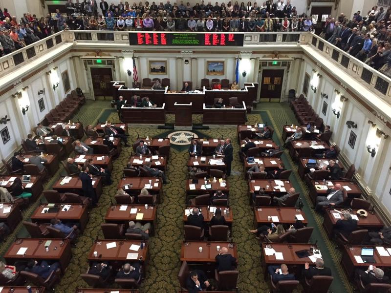 The Oklahoma House gallery was packed Wednesday as representatives spent hours discussing and debating a tax package to address the state's severe budget shortfall. The measure fell short.