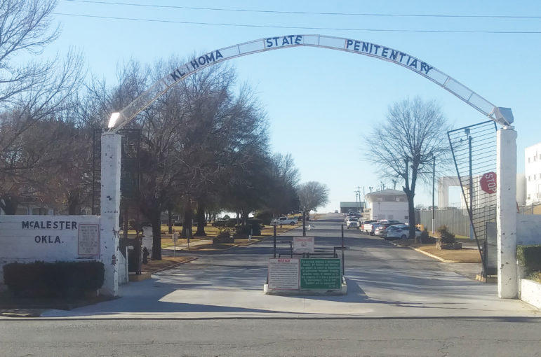 More than a century old, the Oklahoma State Penitentiary in McAlester is a poster child for Oklahoma's deteriorating prison system. Even the sign at its entry gate, with its missing letters, speaks to the infrastructure degradation and other problems insi