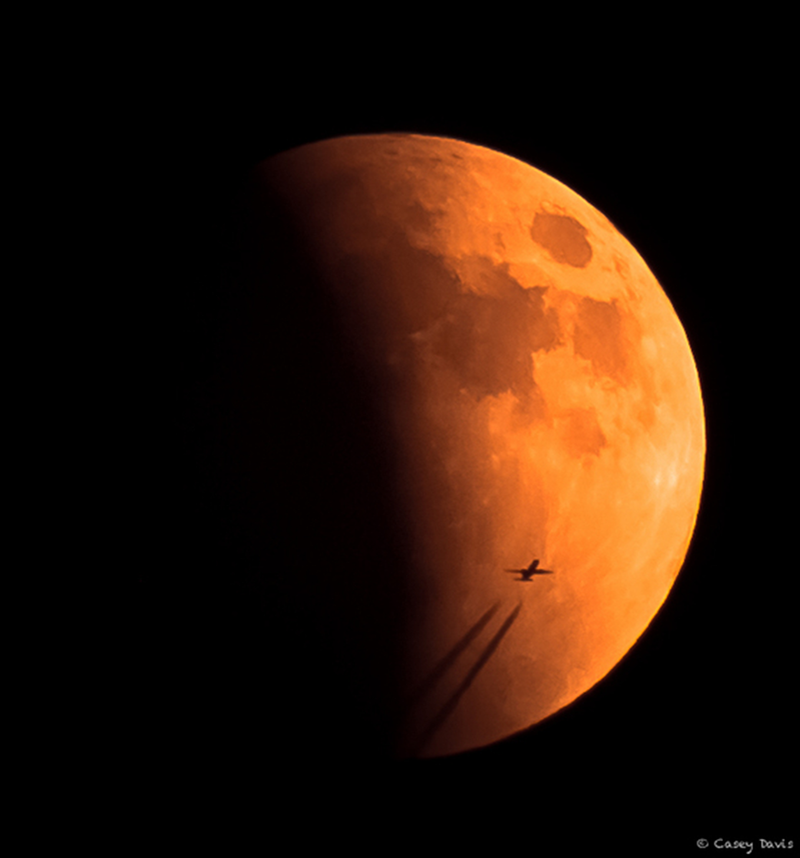 "The September 27, 2015 ""super blood moon."""