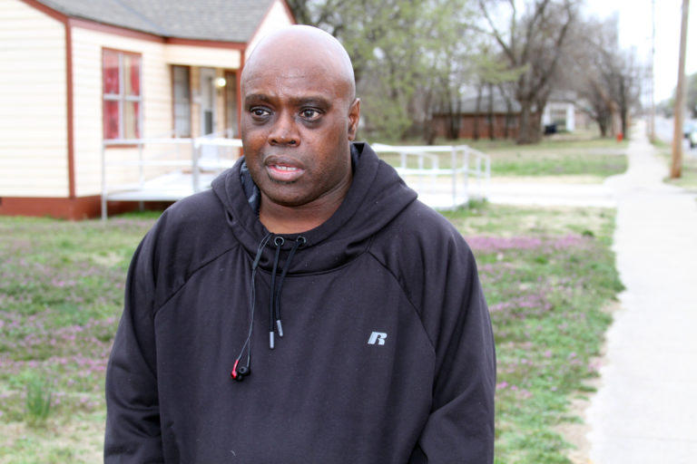 Oklahoma City resident John Whitfield considers a 2016 traffic stop along NE 16 St. near John F. Kennedy Park to have been racially motivated. He allowed police to search his car and was released after 10 minutes without a ticket.