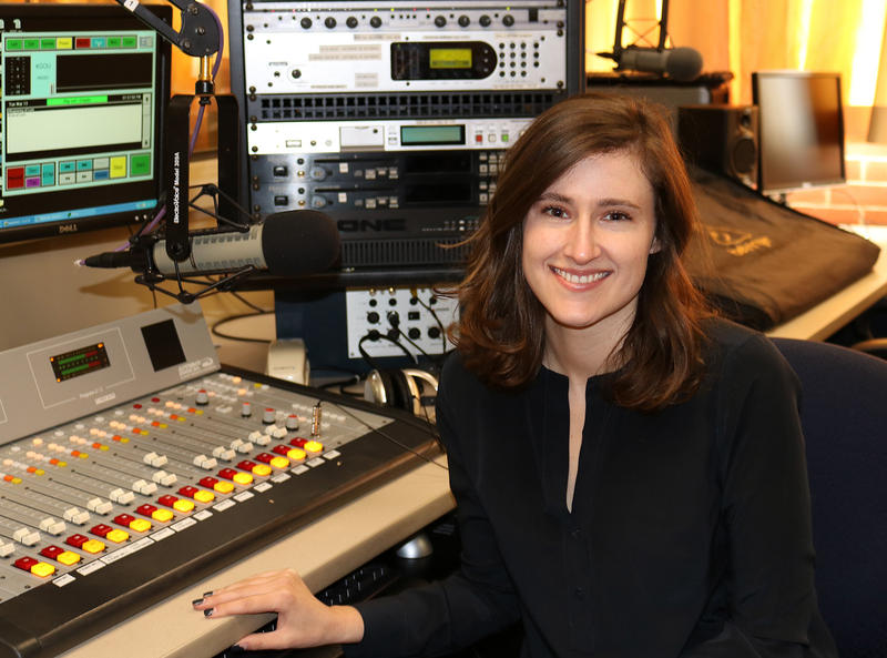 Producer/reporter Caroline Halter