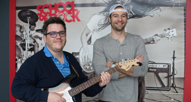Ted Kuschel and Brandon Birdwell at their second School of Rock site at 7200 N. May Ave. in Oklahoma City.