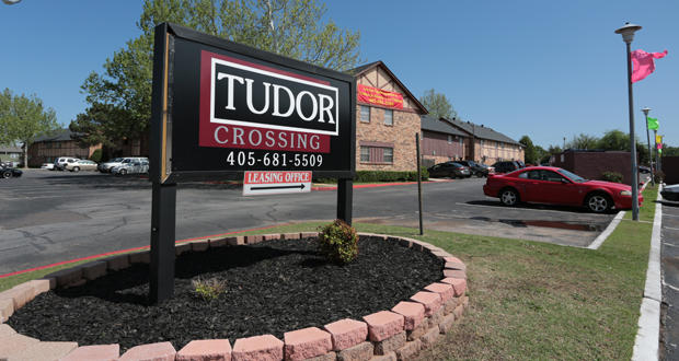 Tudor Crossing Apartments at 1346 SW 74th St. in Oklahoma City.