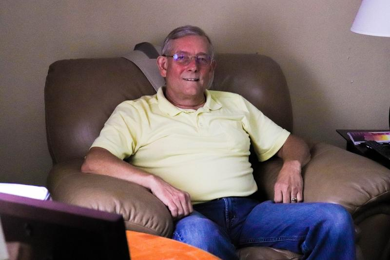 David Rowden suffers from chronic pain in his neck, back and shoulders. He believes medical marijuana would bring better pain relief than the opioid painkillers he currently uses.