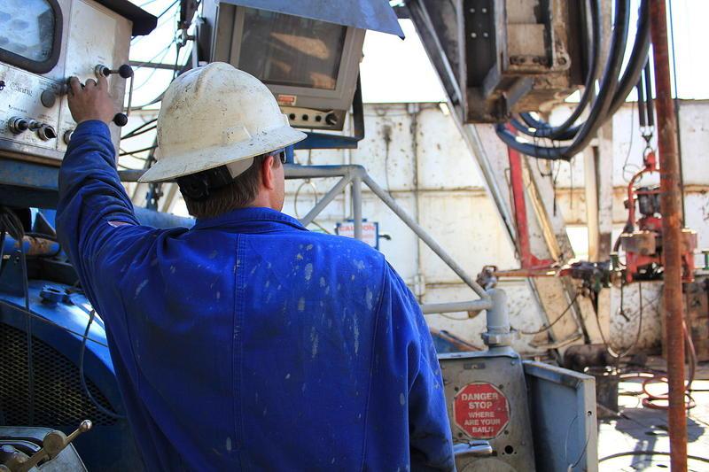 A North Dakota oilfield worker