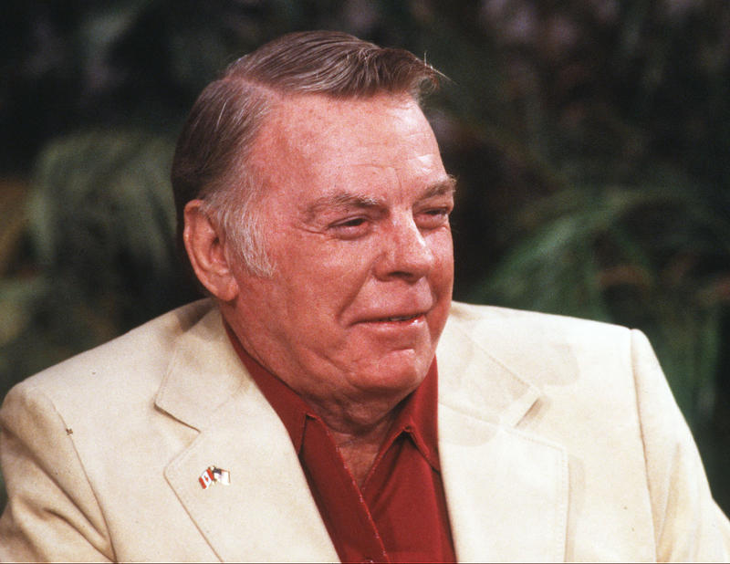 "Paul N. ""Red"" Adair is seen in a November, 1980 photo, appearing on ABC's ""Good Morning America"" show."