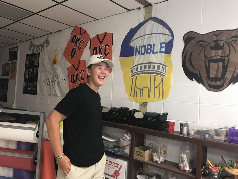 Brody Smith is an incoming junior at Noble High School.