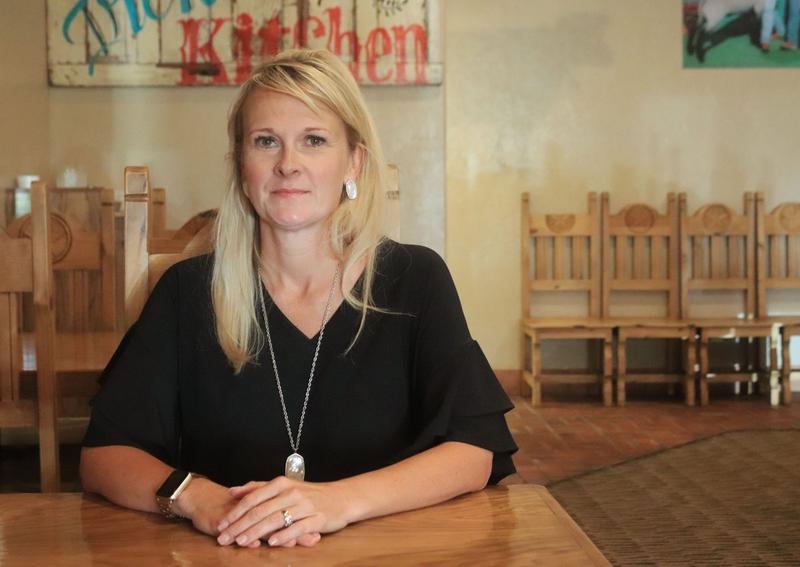 Toni Hasenbeck, a 7th grade teacher in Elgin Public Schools, is running as a Republican in House District 65.