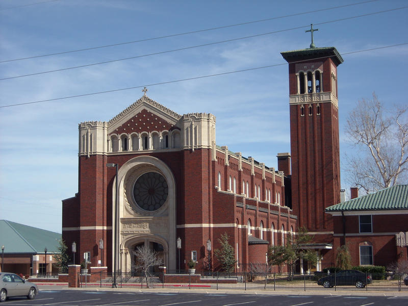 The Cathedral of Our Lady of Perpetual Help serves as the seat of the Oklahoma City Archdiocese.