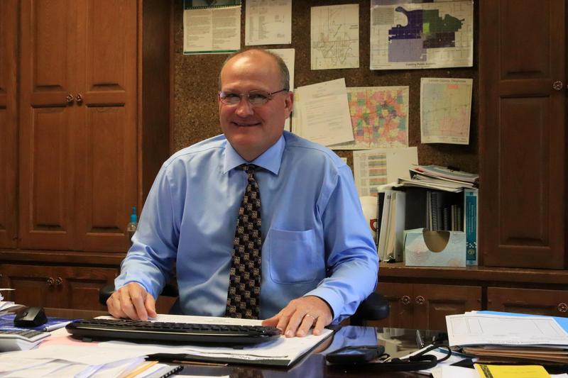 Koln Knight is the superintendent of Cushing Public Schools.