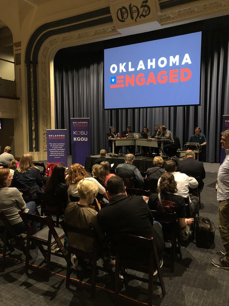 Oklahoma Engaged Watch Party at the OCU School of Law