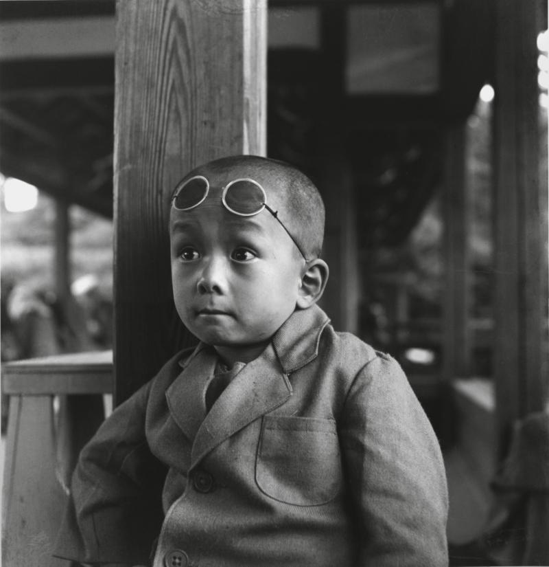 Boy with Goggles, 1947