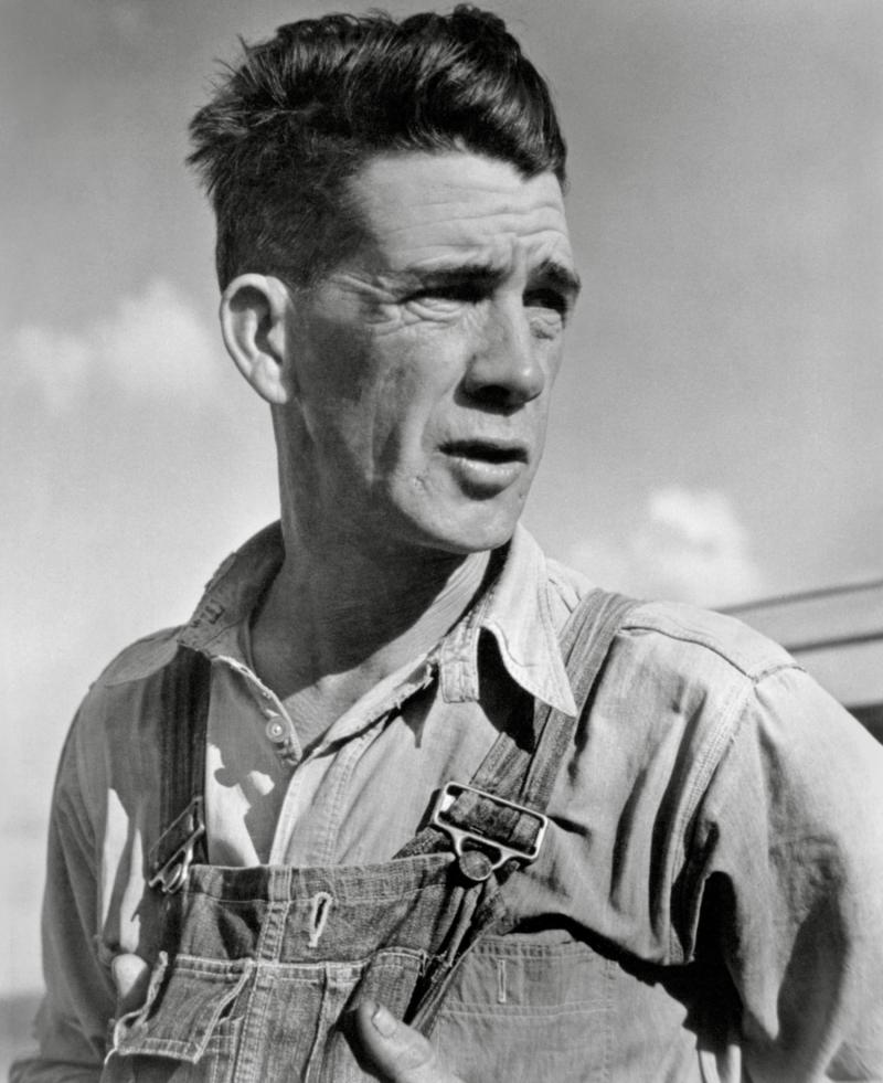 Tom Joad, from The Grapes of Wrath Series, 1938