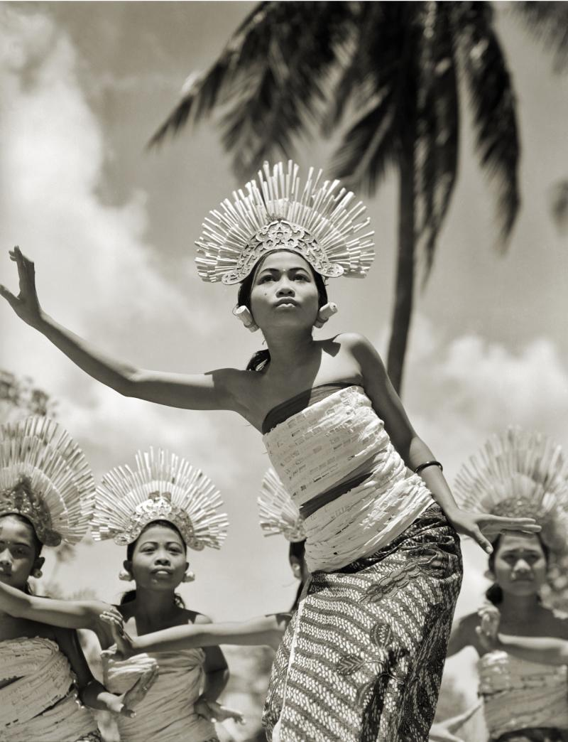 Young Balinese Djanger Dancer Performs, 1939