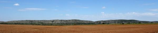 Longhorn Mountain near Coopertown, Okla. has major deposits of limestone and cedar Kiowa Indians use for ceremonies.