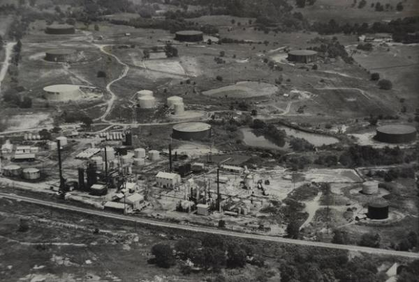 The Wilcox and Lorraine refineries operated at the 125-acre Bristow Superfund site. The complex was abandoned in 1963. The cleanup was crude, and much of the oily sludge, waste and equipment was simply buried.