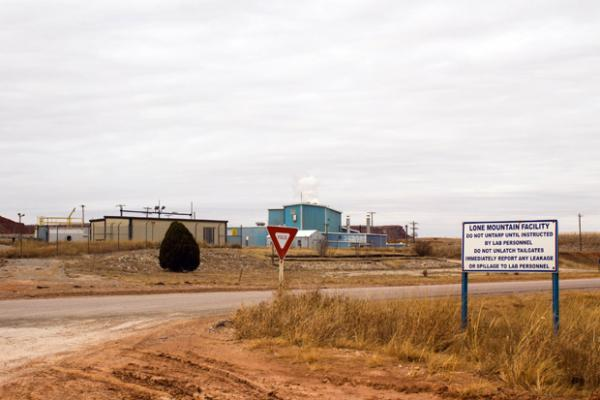 Toxic waste from New York, New Jersey and Wisconsin is brought by rail to Oklahoma, where it's treated and stored at the Lone Mountain Landfill.