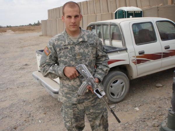 Former U.S. Army 1st Lt. Michael Behenna