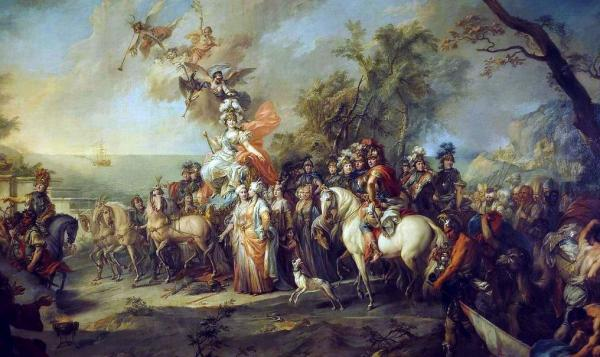 Allegory of Catherine the Great's Victory over the Turks and Tatars