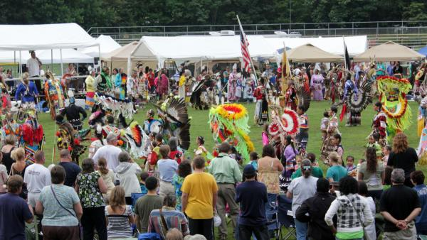 Opening ceremonies of the 2011 Cherokee Nation Pow Wow.