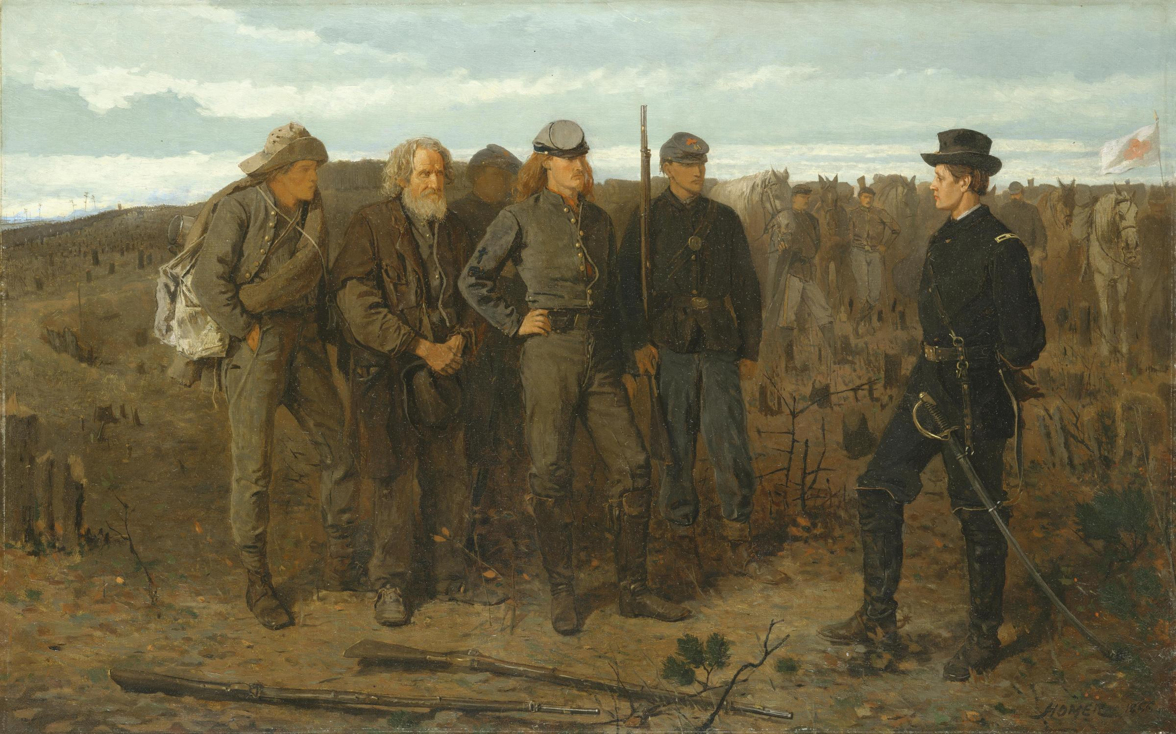 Three reasons why american artists rarely painted the civil war kgou prisoners from the front biocorpaavc Choice Image