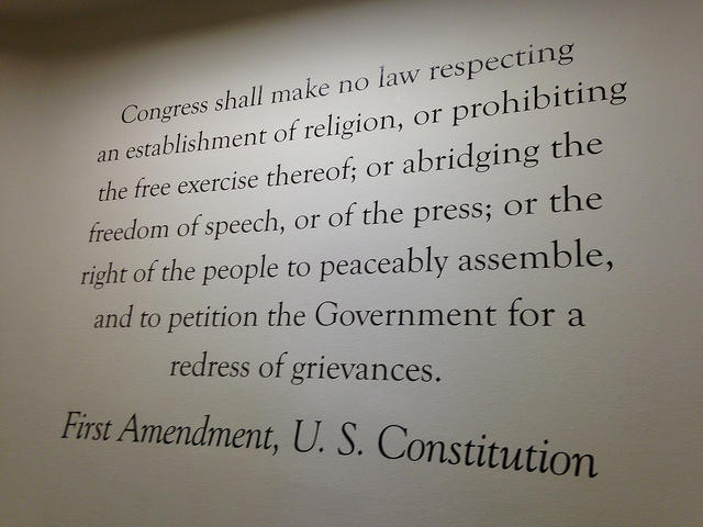 amendment essay first important most why The first amendment is perhaps the most important part of the us constitution because the amendment guarantees citizens freedom of religion, speech, writing and publishing, peaceful assembly, and the freedom to raise grievances with the government.