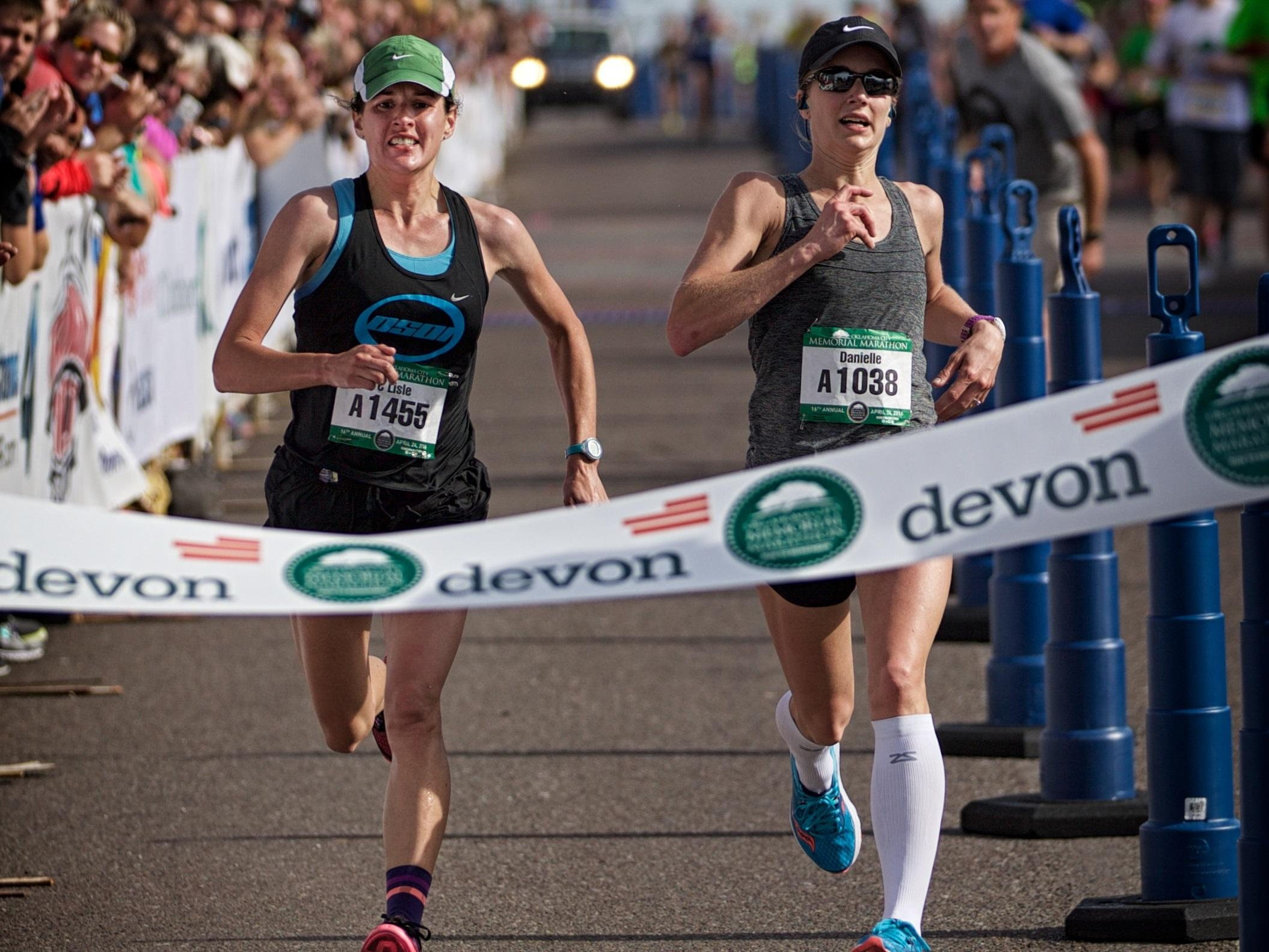 First-Timer Wins Oklahoma City Marathon; Photo Finish For ...