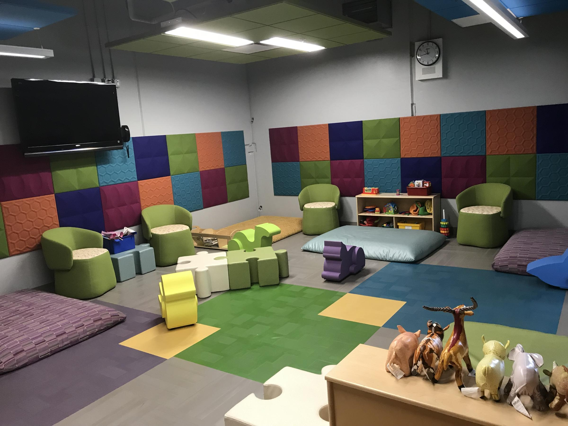 The Play Room At The Canadian Valley Technology Centeru0027s Day Care Doubles  As A Safe Room.