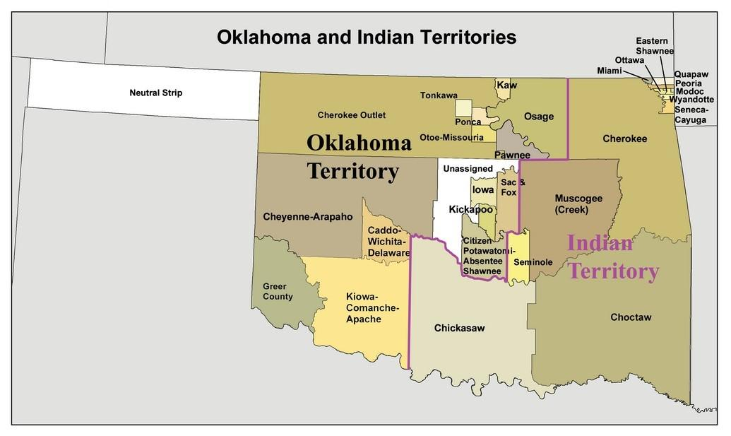 Us Lawmakers Move To Protect Native Owned Land Kgou - Us-indian-territory-map