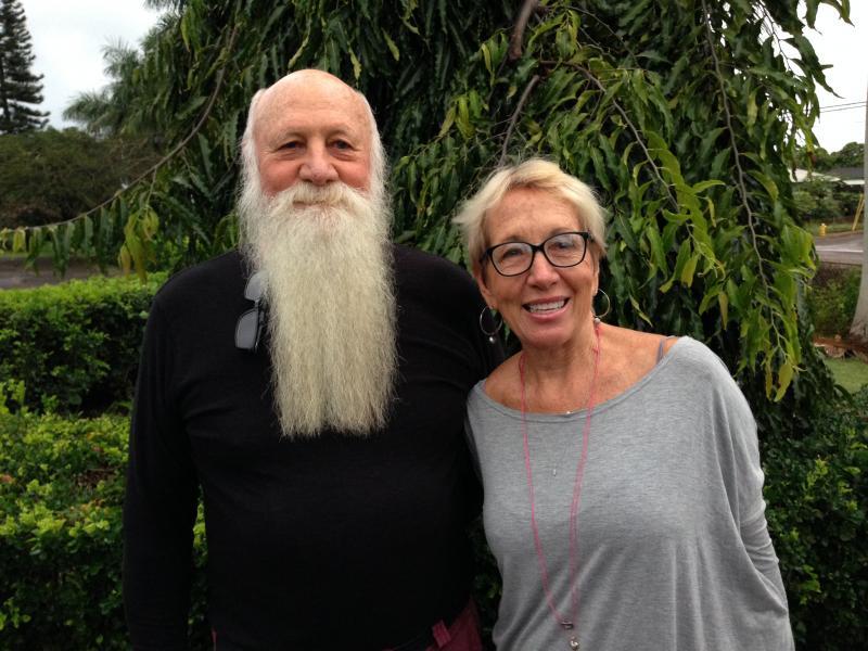 Waialua resident, Bob Leinau and Waialua High & Intermediate School culinary arts teacher, Marsha Dupont-Taylor