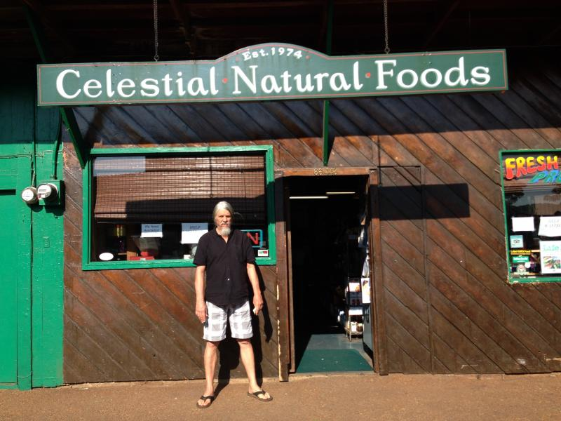 Carter Allen, CEO, Celestial Natural Foods in Haleiwa.