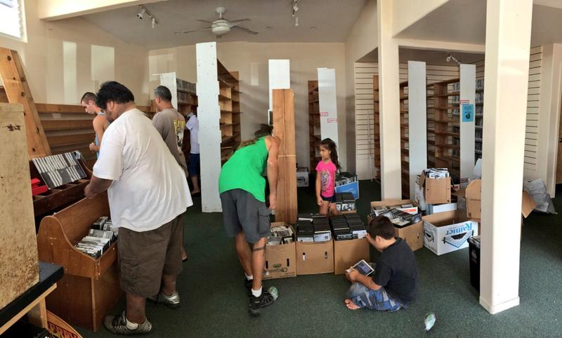 Pahoa Home Video recently relocated to a larger space left vacant by Puna Style, a store that closed up shop in September because of the lava.